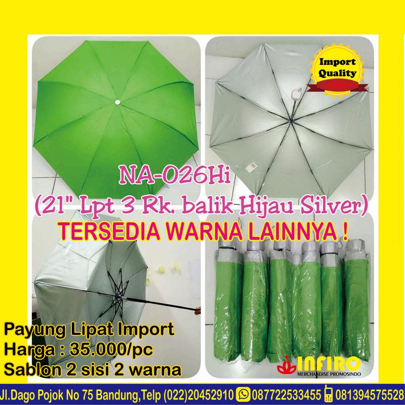 3.payung-lipat-import-silver-hijau
